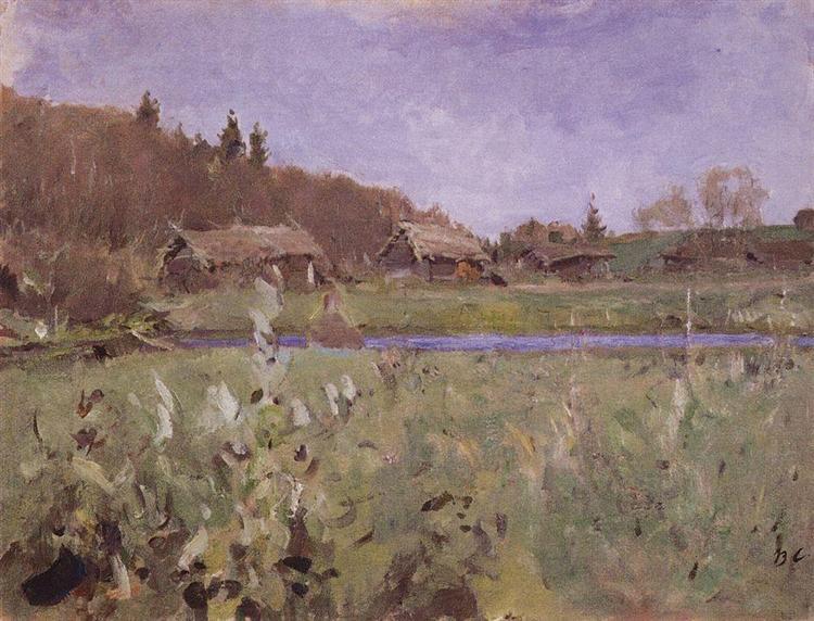Sheds, 1901 - Valentin Serov