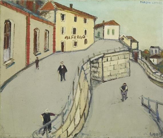 Via San Vittore (Locarno), 1950 - Varlin