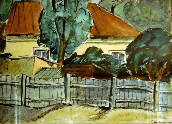 Houses, 1932 - Vasile Dobrian