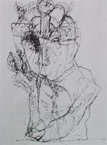 Window Towards Insomnia (5), 1987 - Vasile Kazar