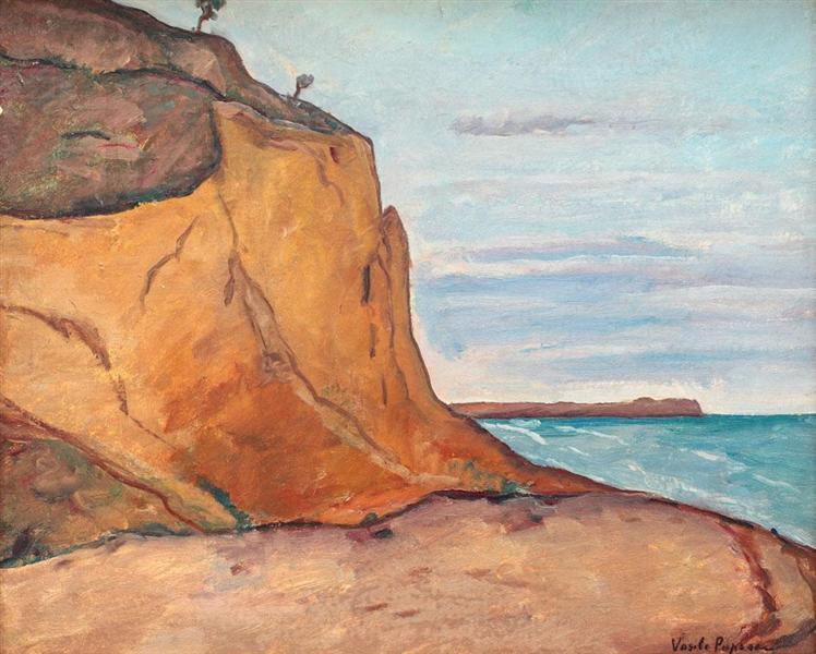 Balchik Cliffs, 1920 - Vasile Popescu