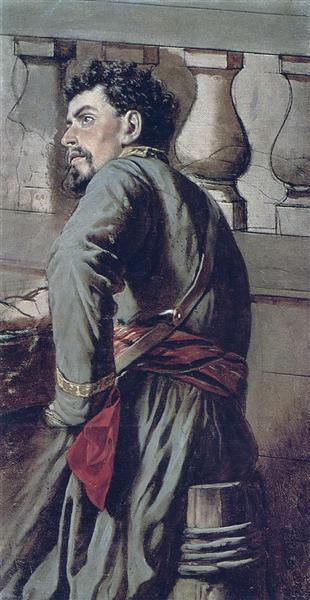 Cossack, 1873 - Vasily Perov