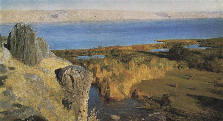 Sea of Galilee, 1899 - Vasily Polenov