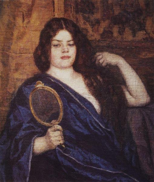 Siberian woman, 1909 - Vasily Surikov