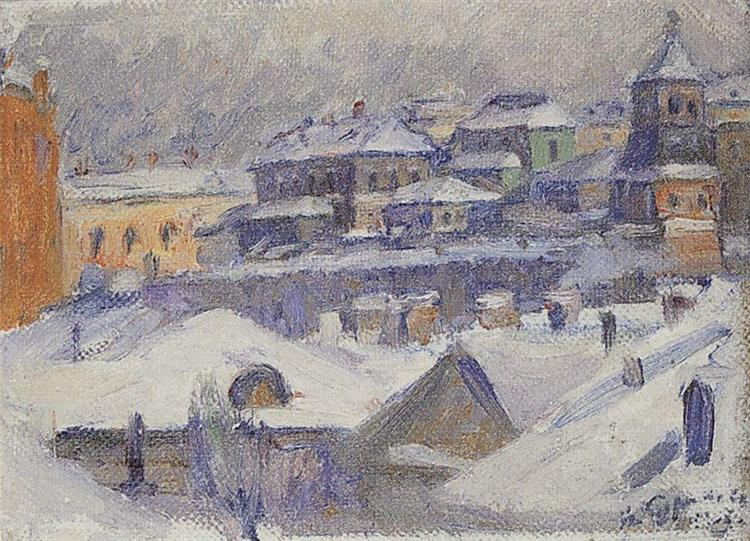 View of Moscow, 1908 - Vassili Sourikov