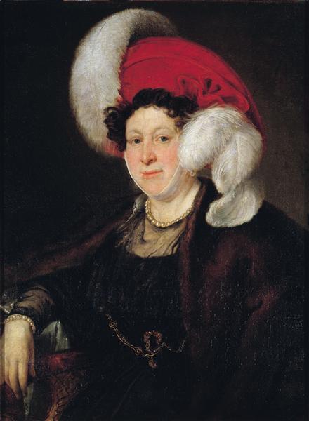 Portrait of Countess N. A. Zubova, 1834 - Vasily Tropinin