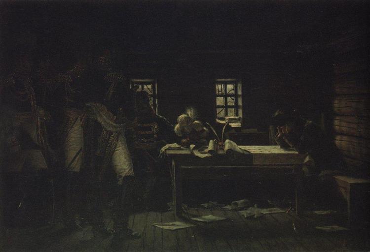 At Gorodnia. Breakthrough or Withdraw, 1887 - 1895 - Vasily Vereshchagin