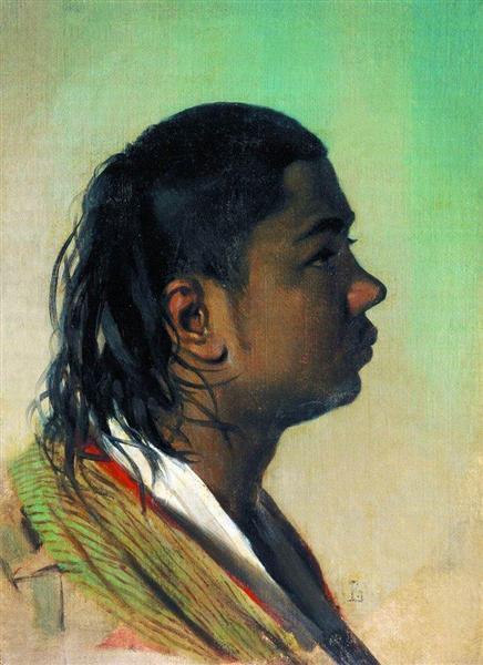 Boy-Uzbek, 1867 - 1868 - Vasily Vereshchagin