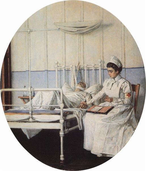 Interrupted Letter, 1901 - Vasily Vereshchagin