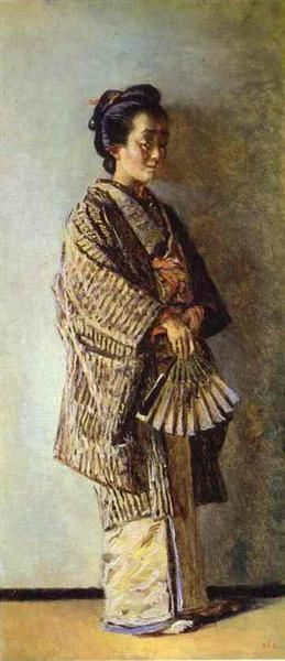 Japanese Woman - Vasily Vereshchagin