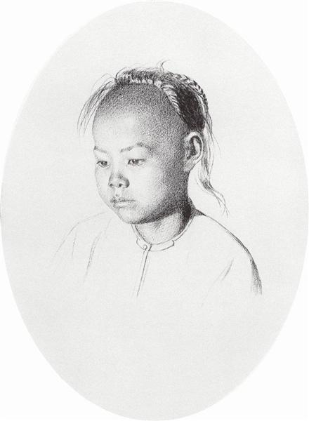 Solon boy, 1869 - 1870 - Vasily Vereshchagin