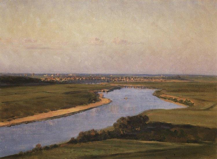 The Northern Dvina, 1894 - Vasily Vereshchagin