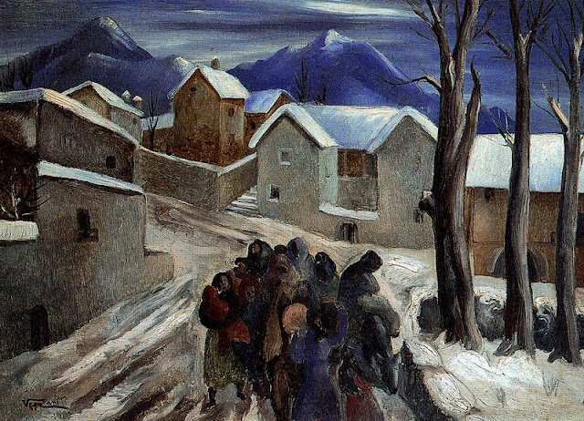 Evacuation of the Pyrenees, 1941 - Vela Zanetti