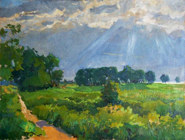 After the rain, 1946 - Veniamin Kremer