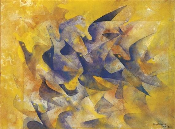 Birds of paradise - Vicente Manansala