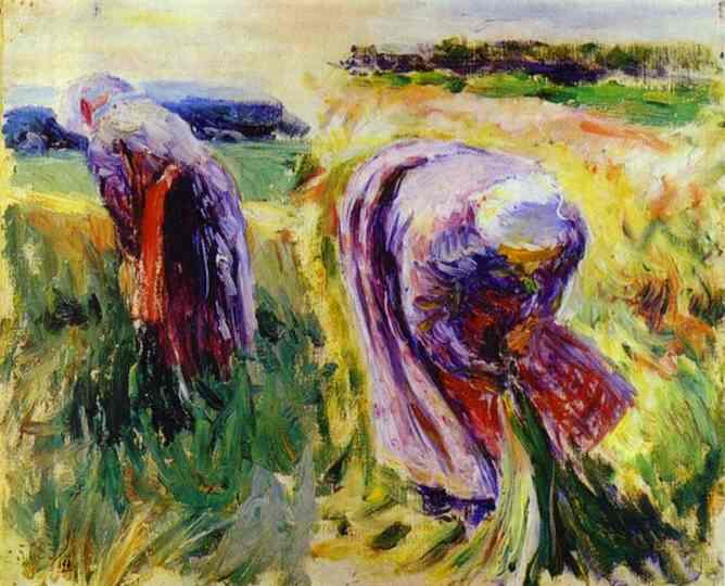 Reapers, 1897 - Victor Borisov-Musatov