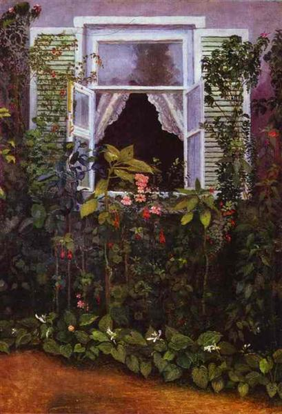 Window, 1886 - Victor Borisov-Musatov