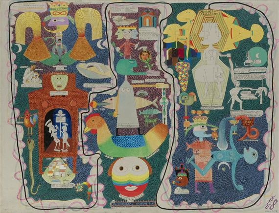 Autobiographical Painting - Biosensible Ultrapainting - Victor Brauner