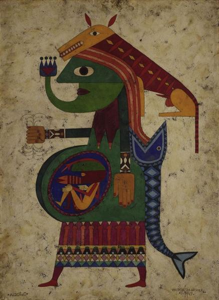 There 1949 victor brauner - Victor brauner loup table ...