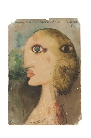 Visage - Victor Brauner
