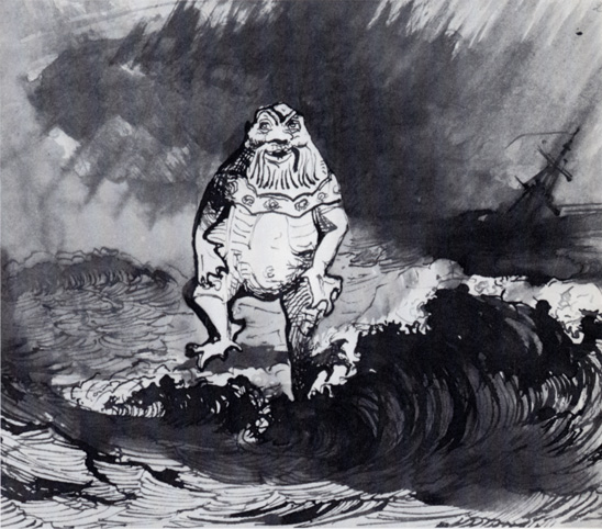 The King of the Auxcriniers, 1864 - Victor Hugo