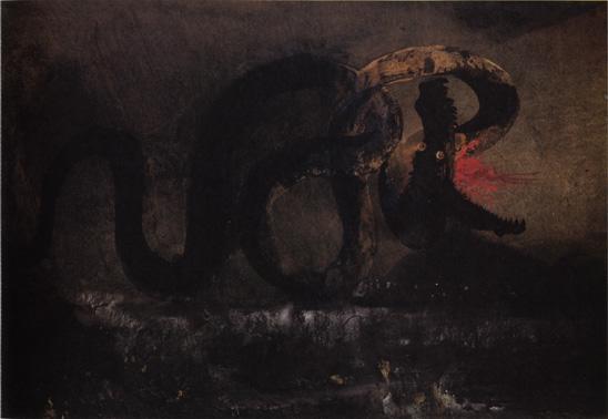 The Snake, 1866 - Victor Hugo