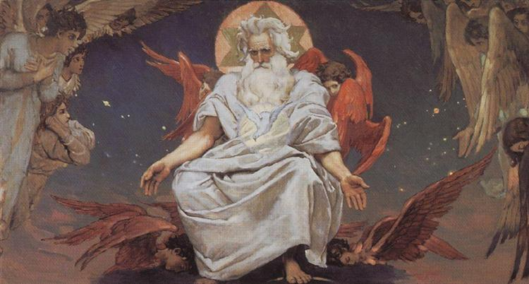 God of hosts, 1885 - 1896 - Viktor Vasnetsov