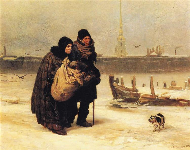 Moving House - Viktor Vasnetsov