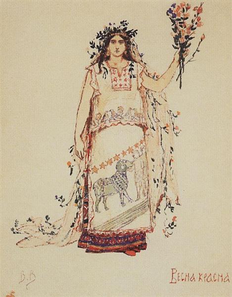 Vesna Krasna, 1885 - Viktor Vasnetsov