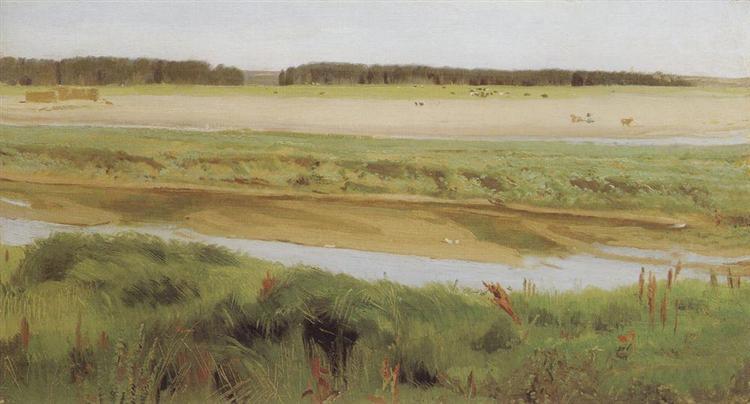 Vyatka River, 1878 - Viktor Vasnetsov