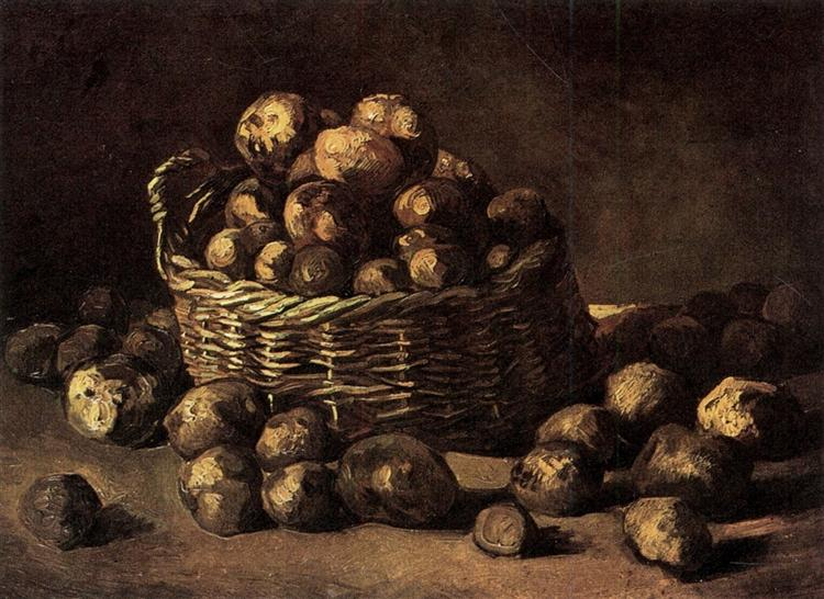 Basket of Potatoes, 1885 - Vincent van Gogh