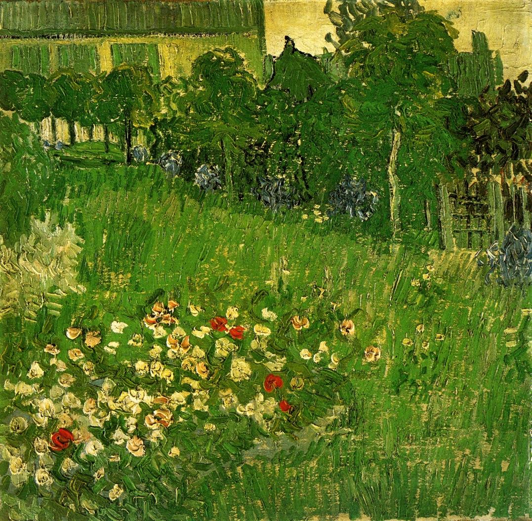 Daubigny 39 s garden 1890 vincent van gogh for Jardin a auvers van gogh