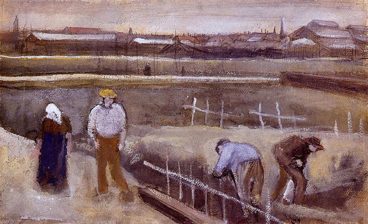 Meadows near Rijswijk, 1882 - Vincent van Gogh