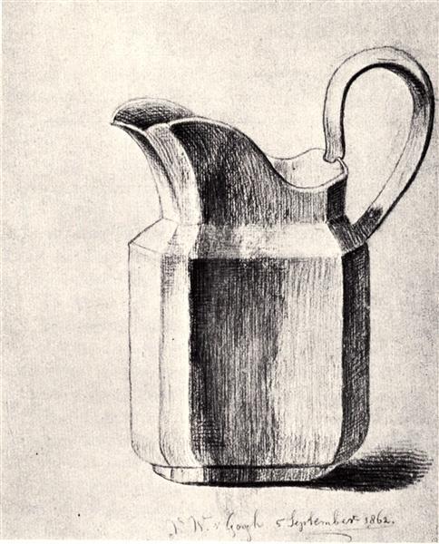 Milk Jug, 1862 - Вінсент Ван Гог