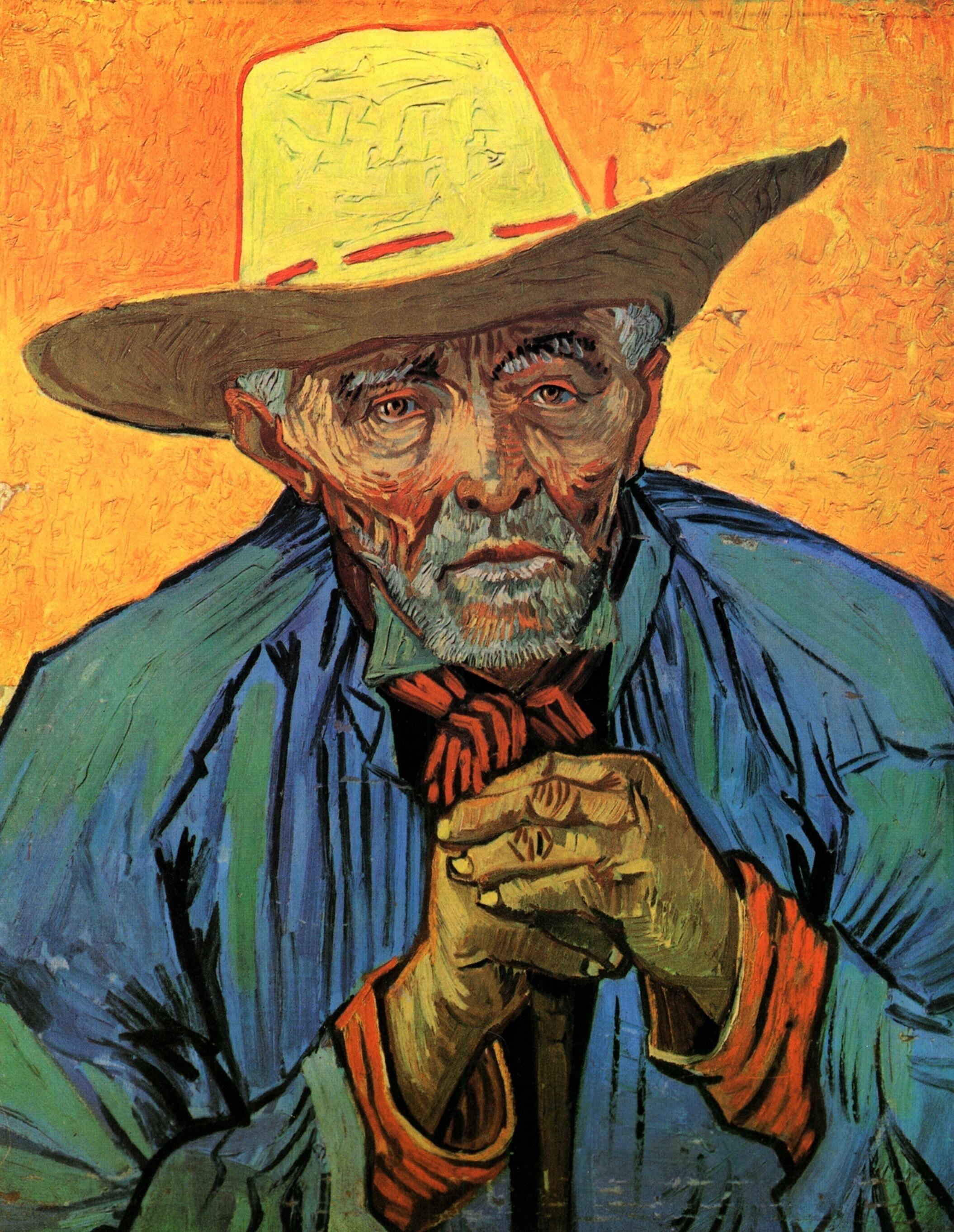 Portrait of Patience Escalier, 1888 - Vincent van Gogh - WikiArt.org