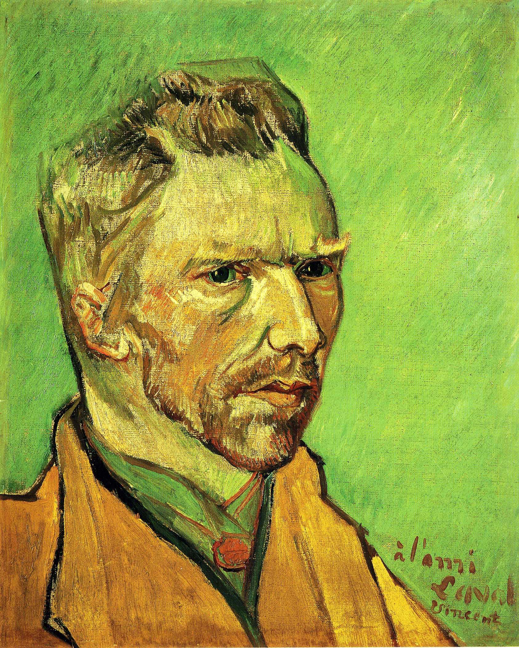 Self Portrait, 1888 - Vincent van Gogh - WikiArt.org