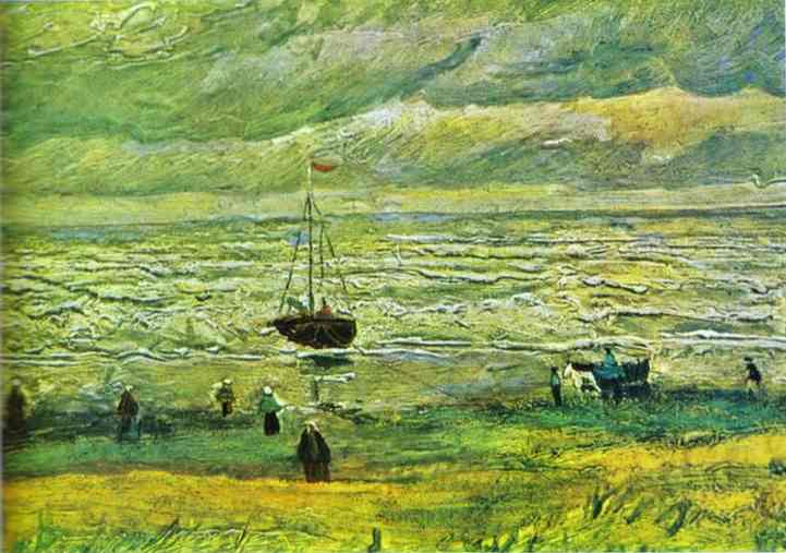 Shores of Scheveningen, 1882 - Vincent van Gogh
