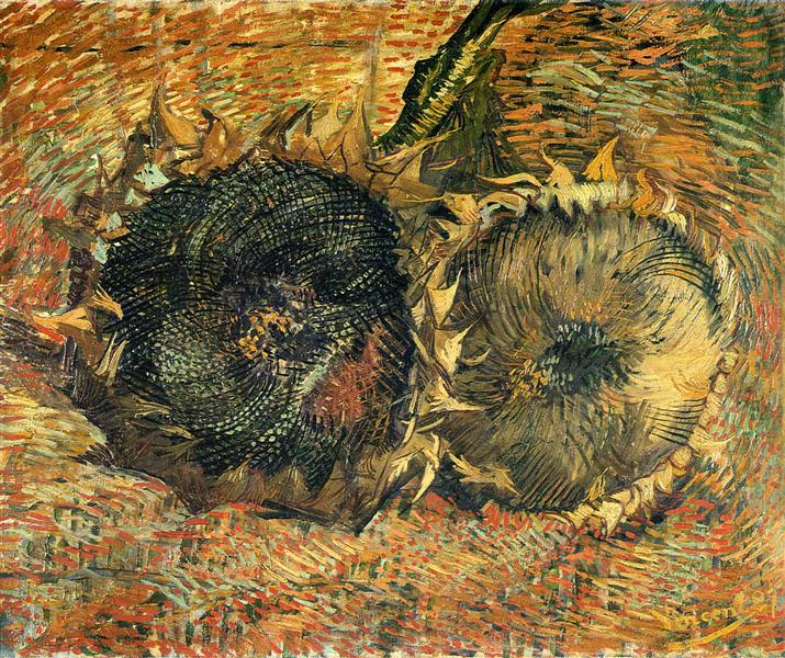 Still Life with Two Sunflowers, 1887 - Vincent van Gogh