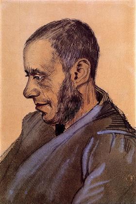 El librero Blok, Vincent van Gogh