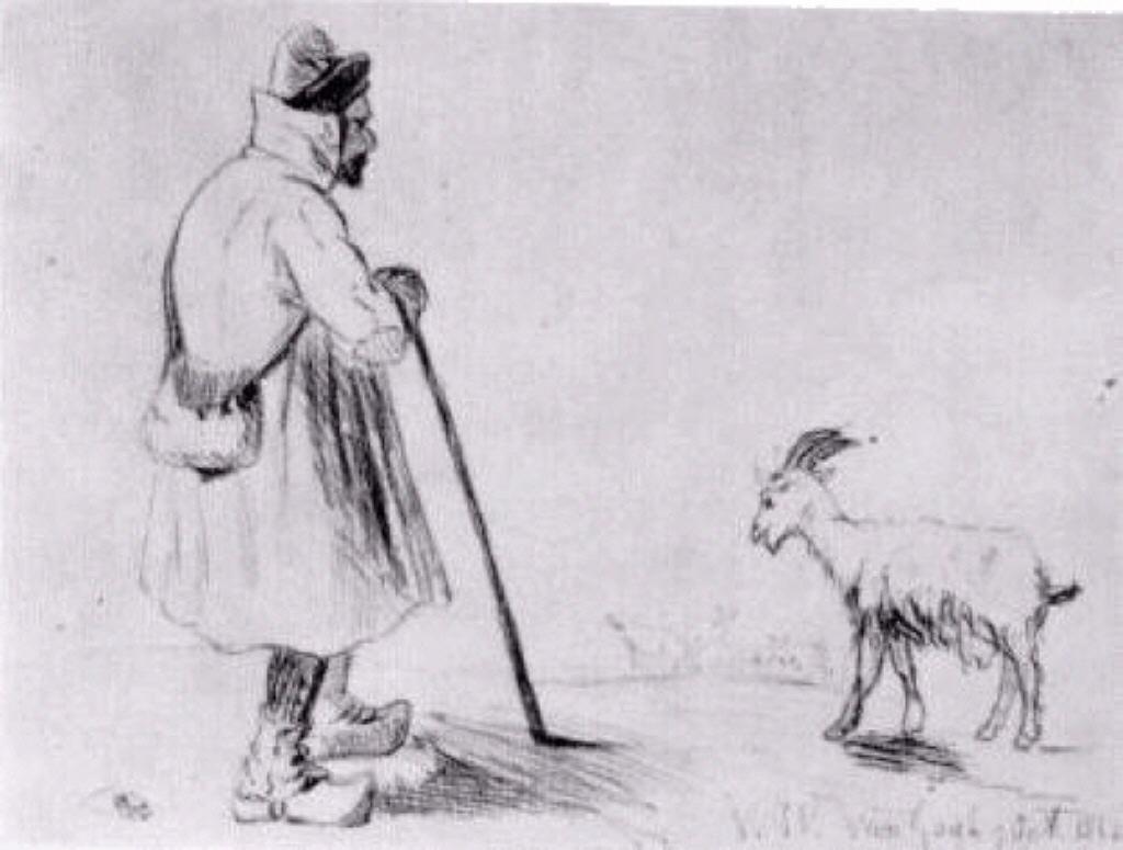 The Goat Herd, 1862