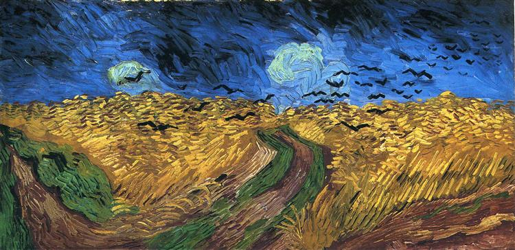 Wheatfield with Crows, 1890 - Vincent van Gogh