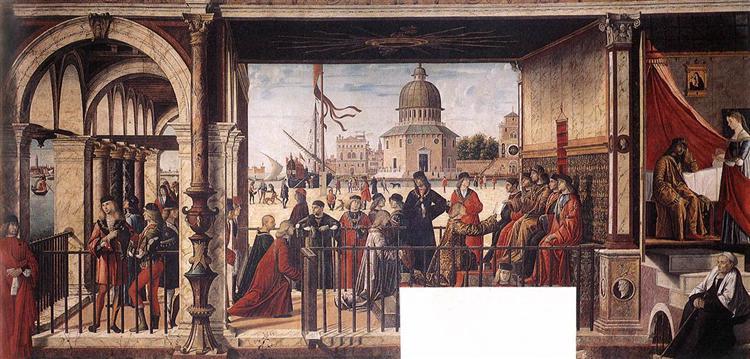 The Arrival of the English Ambassadors, 1498 - Vittore Carpaccio
