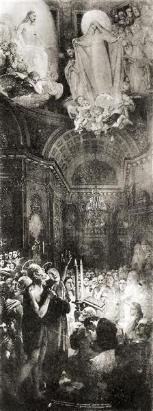 Intercessionof the BlessedVirgin Mary - Vladimir Borovikovsky