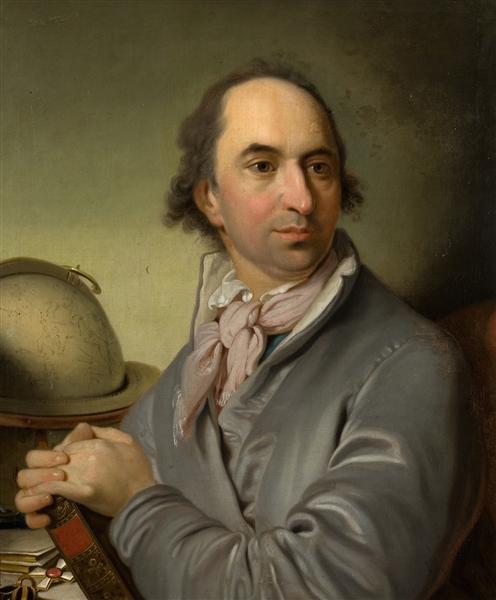Portrait of Alexander Semenovitsch Chvostov, 1801 - Vladimir Borovikovsky
