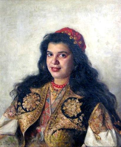 A gypsy lady - Vladimir Makovsky