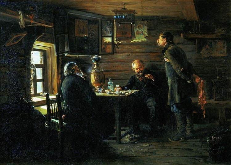 Fans of nightingales - Makovsky Vladimir