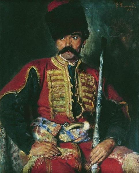 Zaporizhzhya Cossack, 1884 - Konstantin Jegorowitsch Makowski