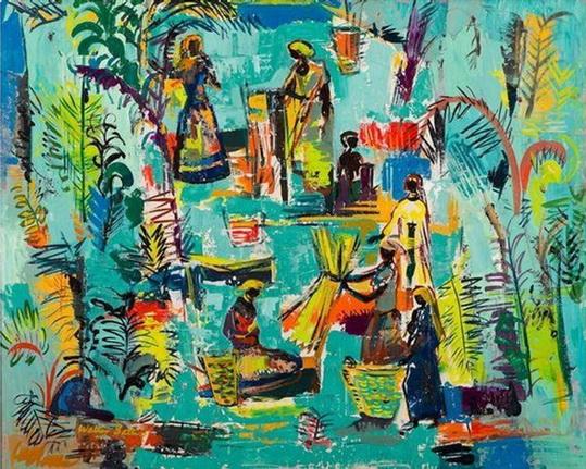 Walter Battiss Famous Paintings