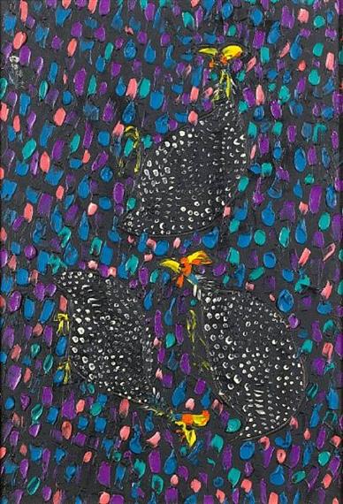 Guinea fowl - Walter Battiss