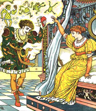 The Frog Prince and other stories, 1874 - Walter Crane